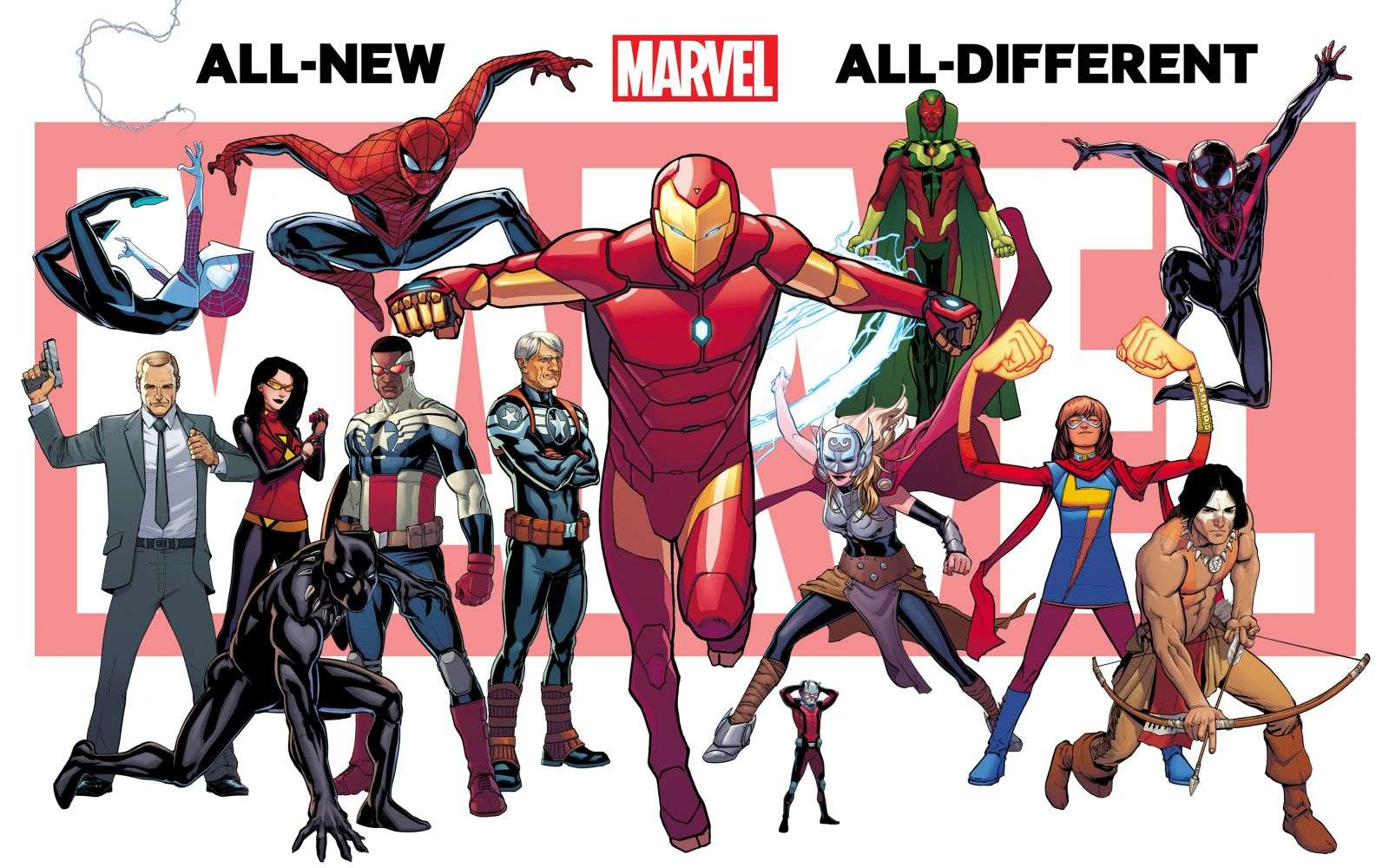 All New All Different Marvel Teaser