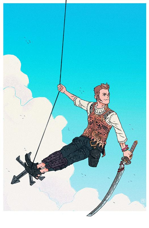 Balthier by Paul Reinwand