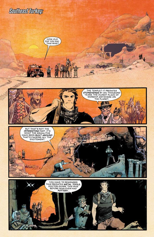 Chrononauts #1 Page