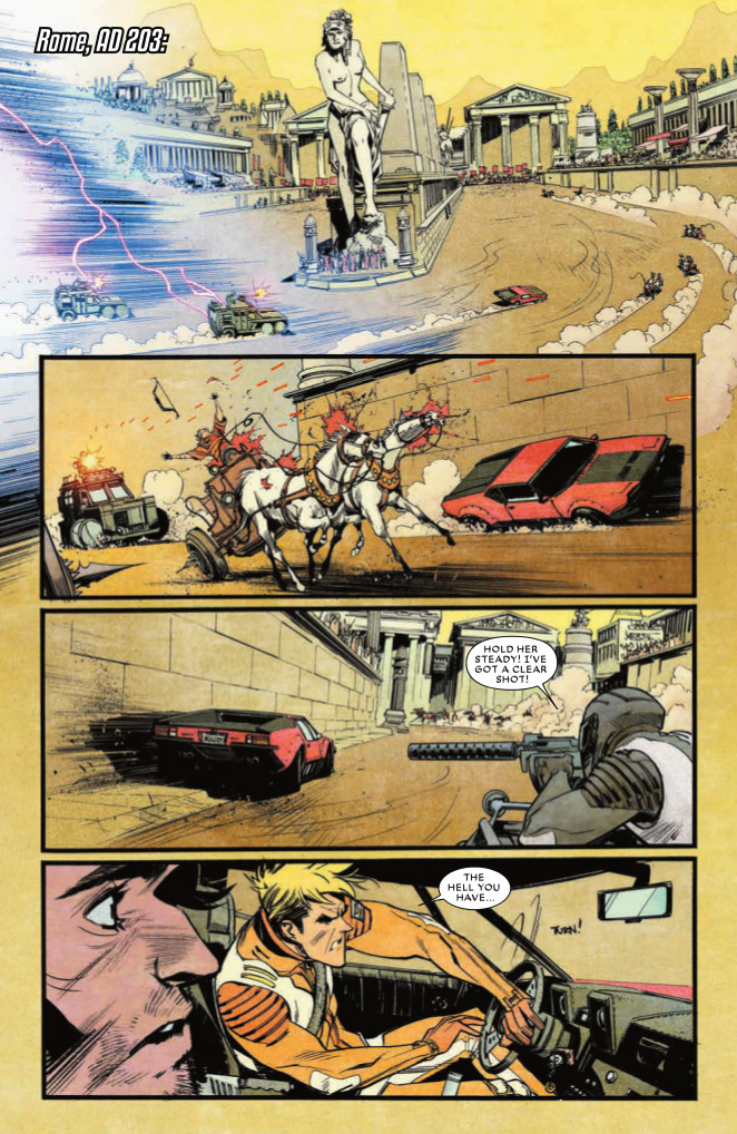 Chrononauts Page from #3