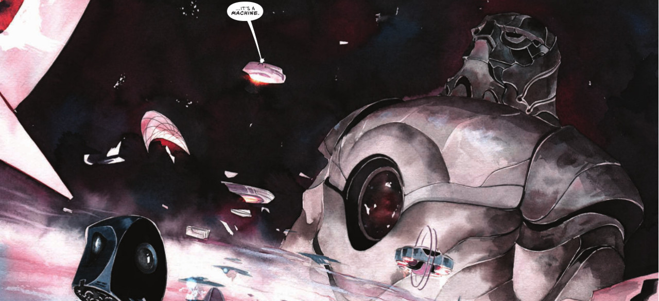 """Dustin Nguyen Explores the Galaxy in """"Descender"""" #1"""