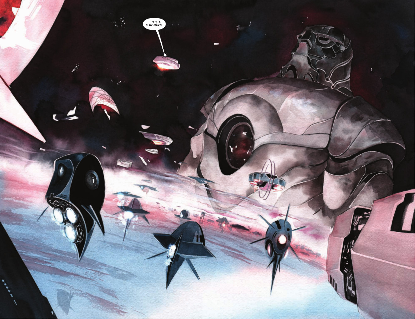 Descender #1 Page 8 and 9