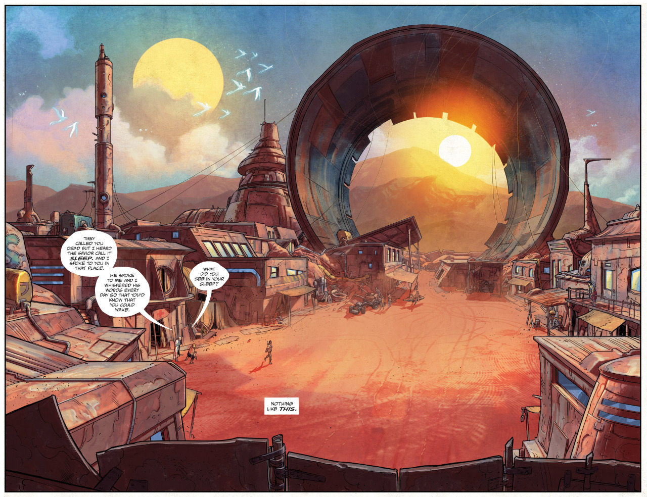 Clean Lines and Dirty Sci-Fi: A Look at the Art of Drifter with Nic Klein