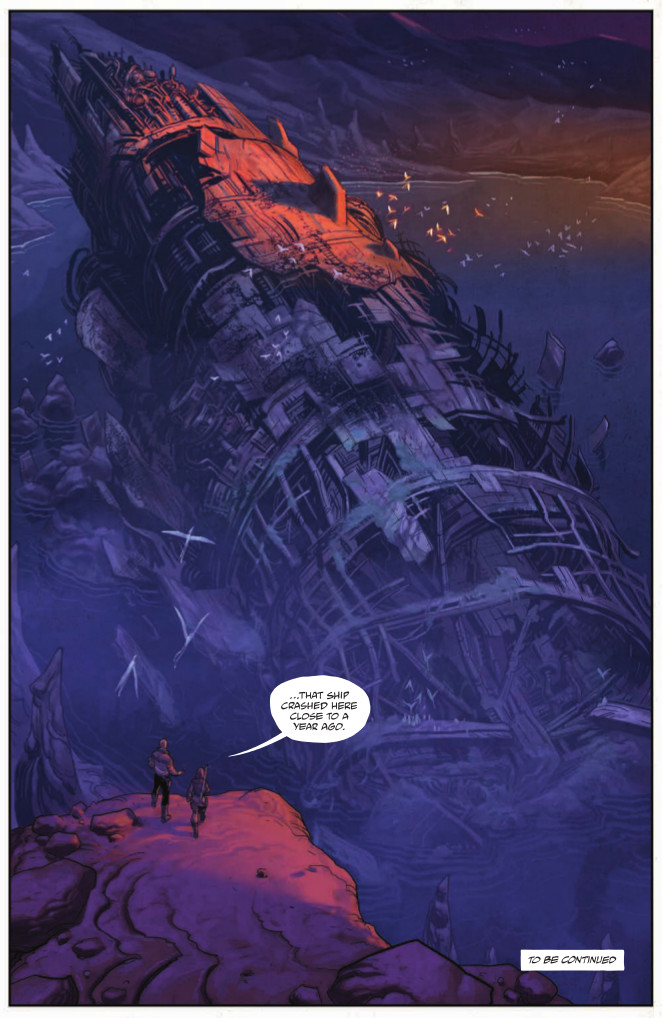 Page from Drifter #1