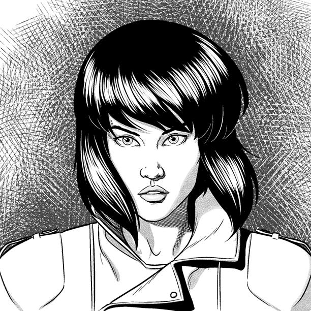 Major Kusanagi by Jamie McKelvie