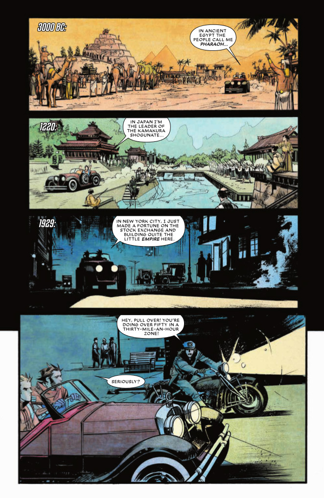 Page from Chrononauts #2