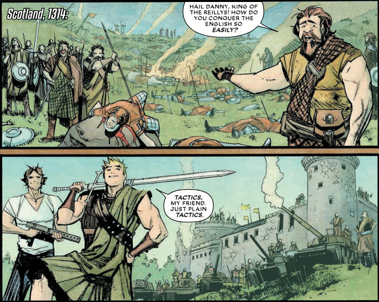 Panels from Chrononauts #2