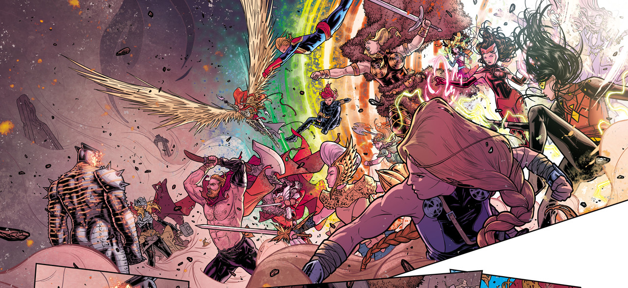 """Russell Dauterman on the Magic and Majesty of Crafting """"Thor"""""""