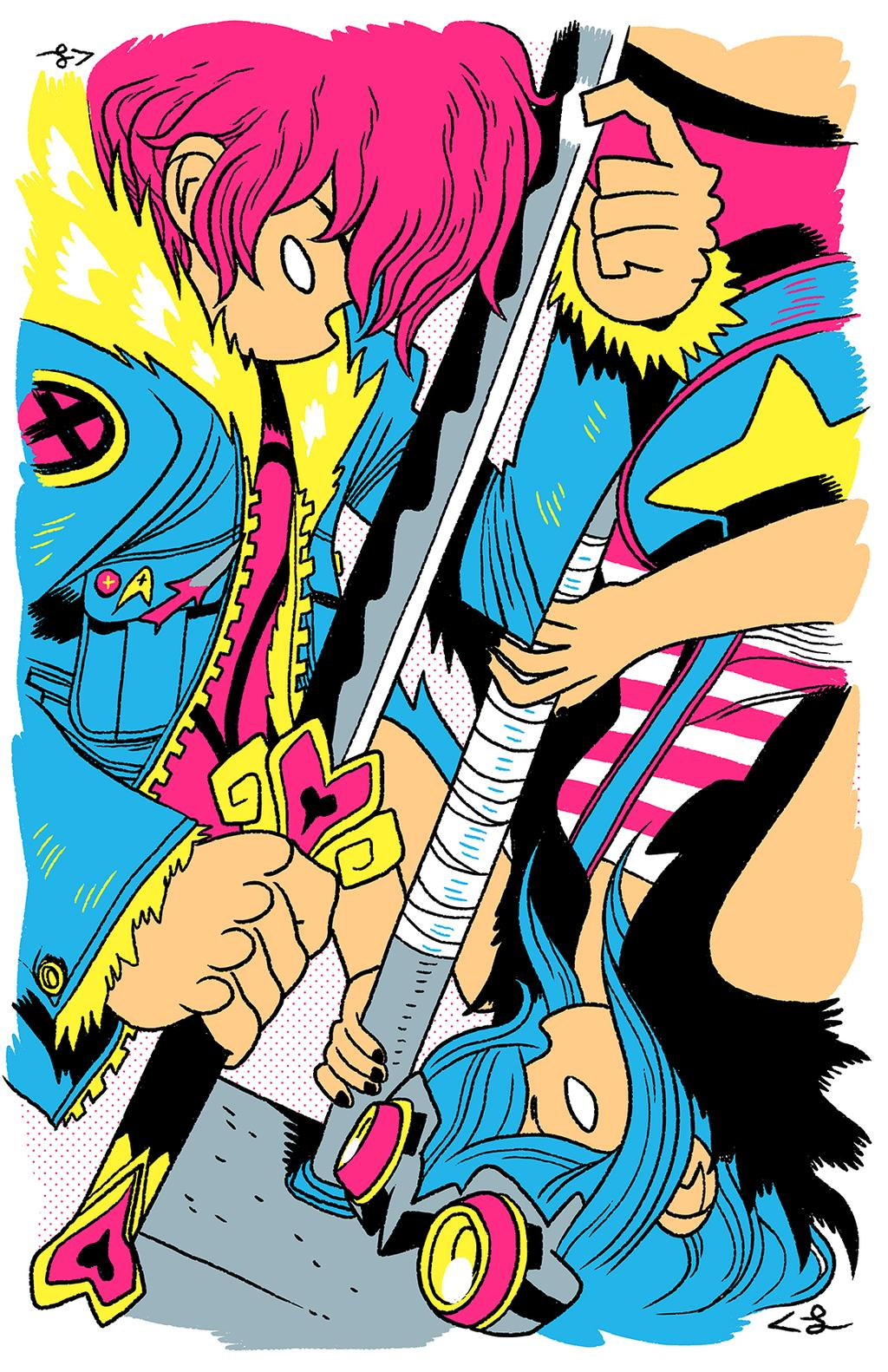 Scott Pilgrim by Corey Lewis