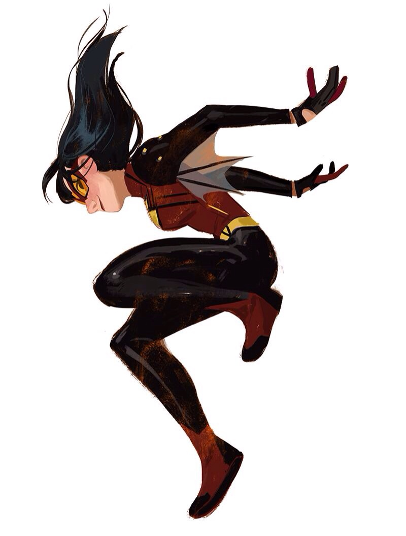 Spider-Woman by Mingjue Helen Chen