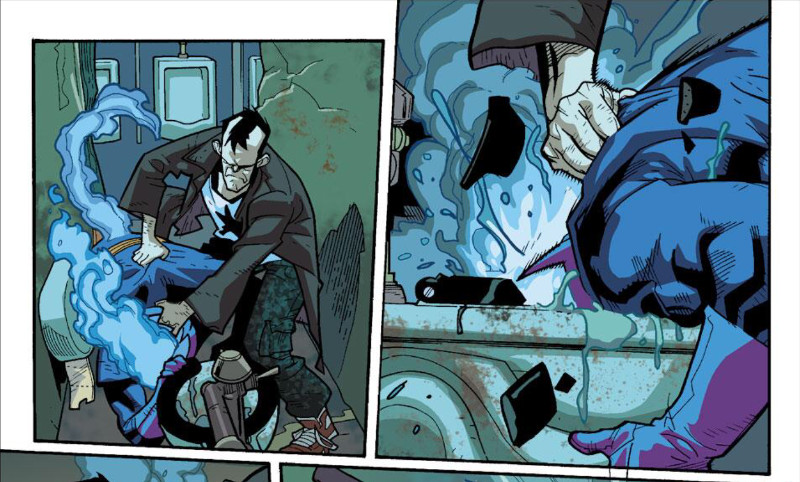 The Captain Character Moment Nextwave