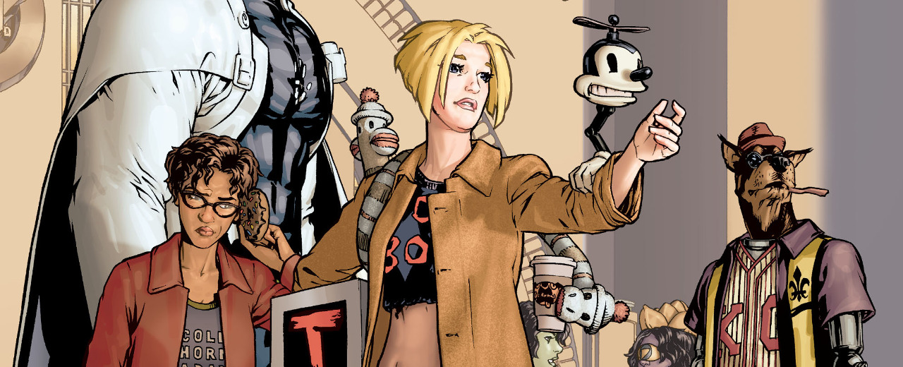 """New Reader Friendly: Moore, Ha and Cannon's """"Top Ten"""" is a Superhero/Procedural Mash-Up For Everyone"""