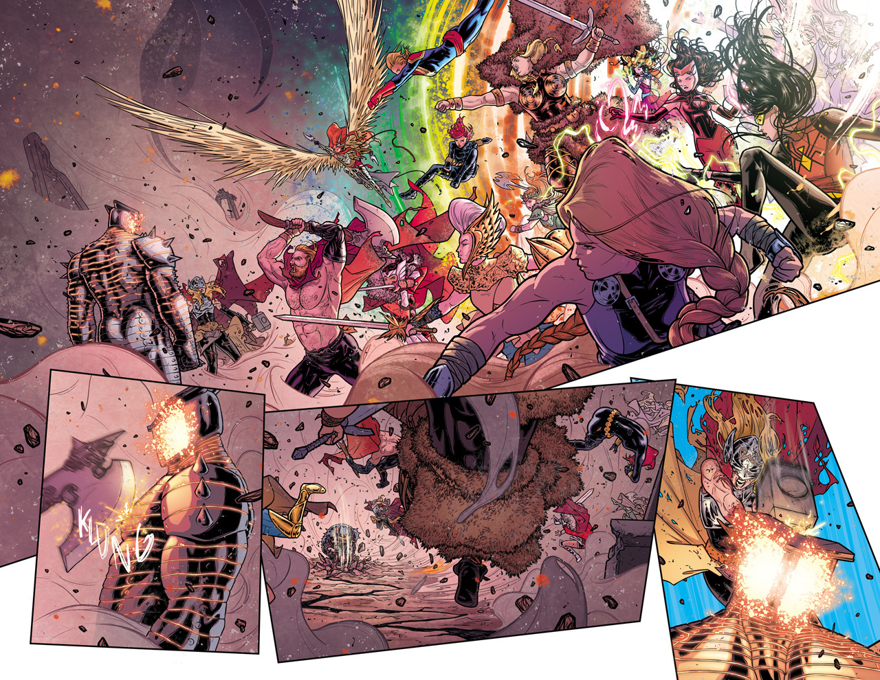 Thor #8 Pages 1 and 2 Final