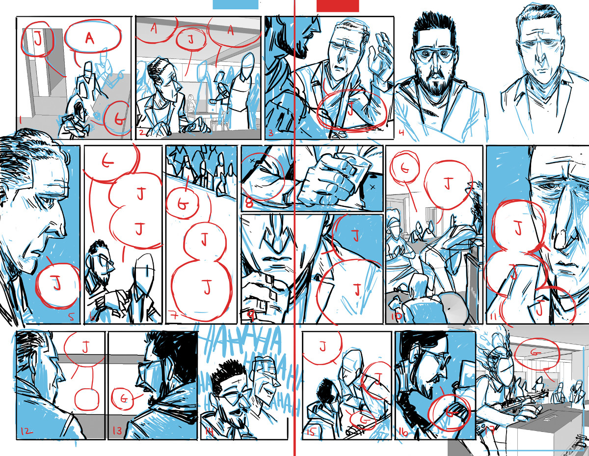 Airboy Rough Spread #2