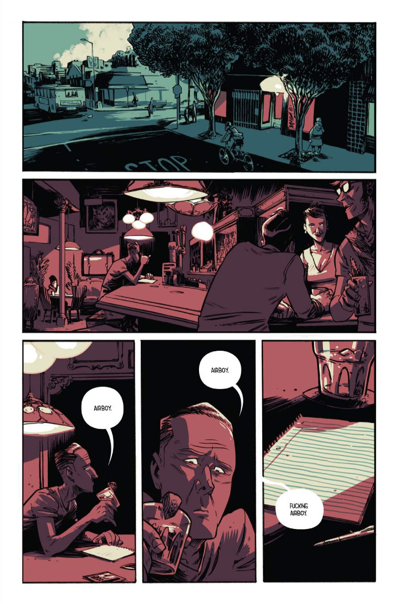 Airboy #1 Panels and Colors