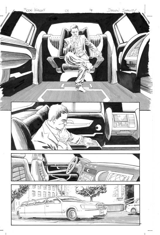 Declan Shalvey Cadence Comic Art