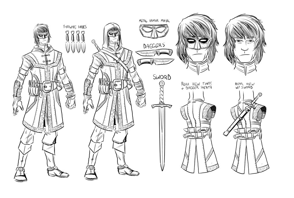 Gage Character Design