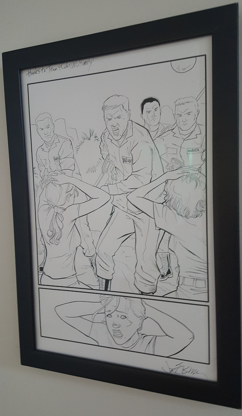 Joe Eisma Morning Glories Original Art