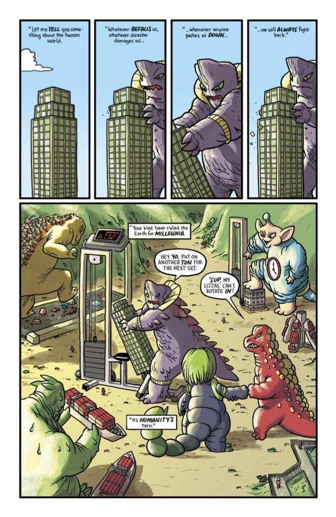 Kaijumax #1 Page 8