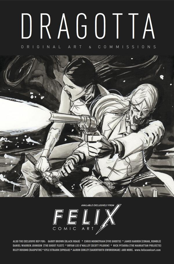 Felix Comic Art Ad