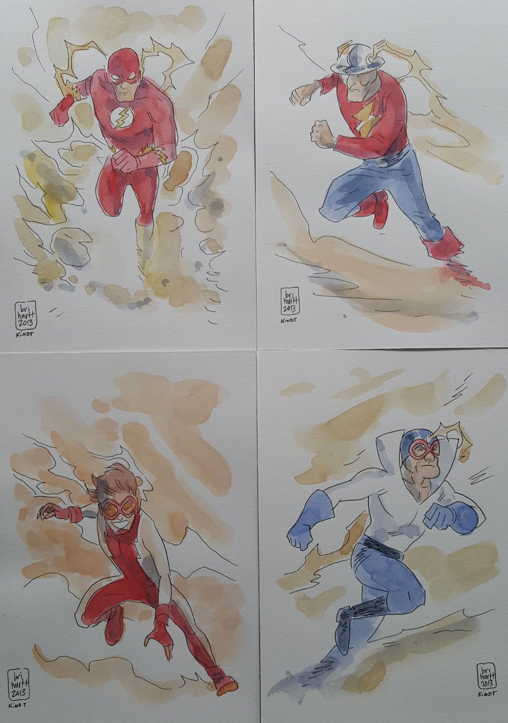 The Flash Family by Brian Hurtt and Matt Kindt