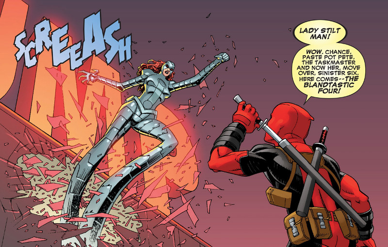 Deadpool #10 Mike Hawthorne