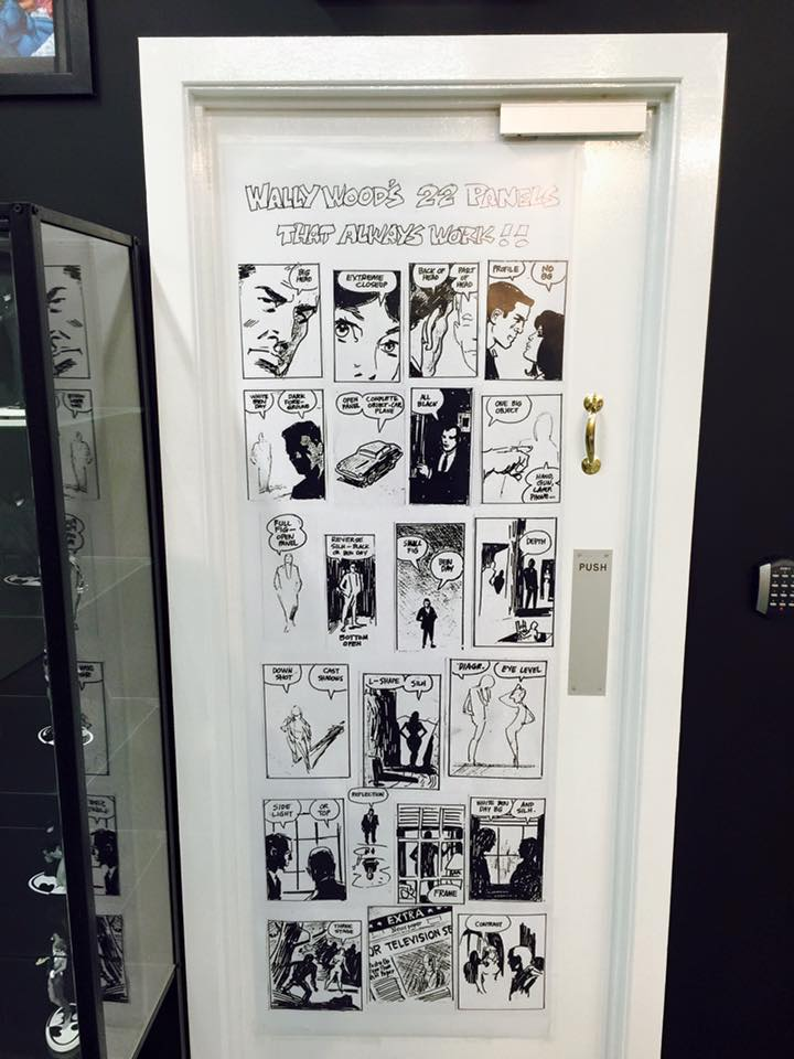 Big Bang Wally Wood Door