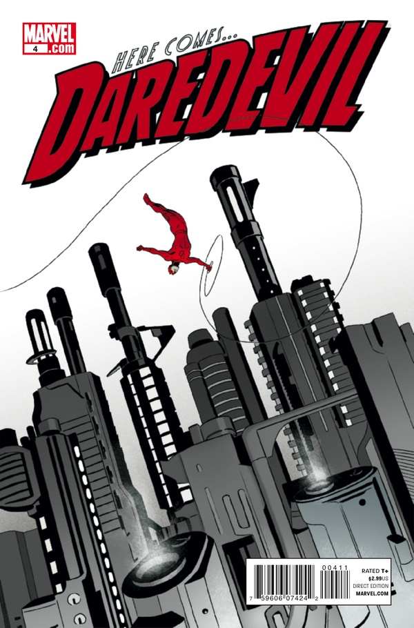 Daredevil #4 Art by Marcos Martin