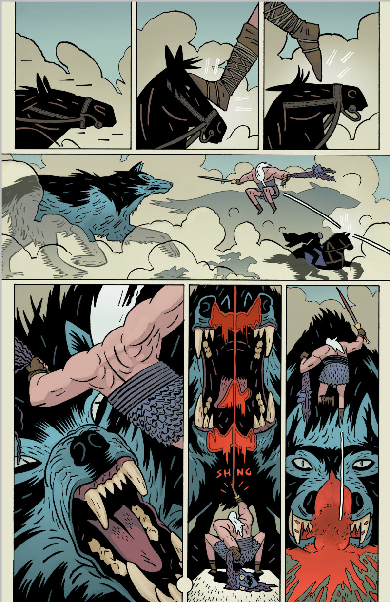 Head Lopper Wolves