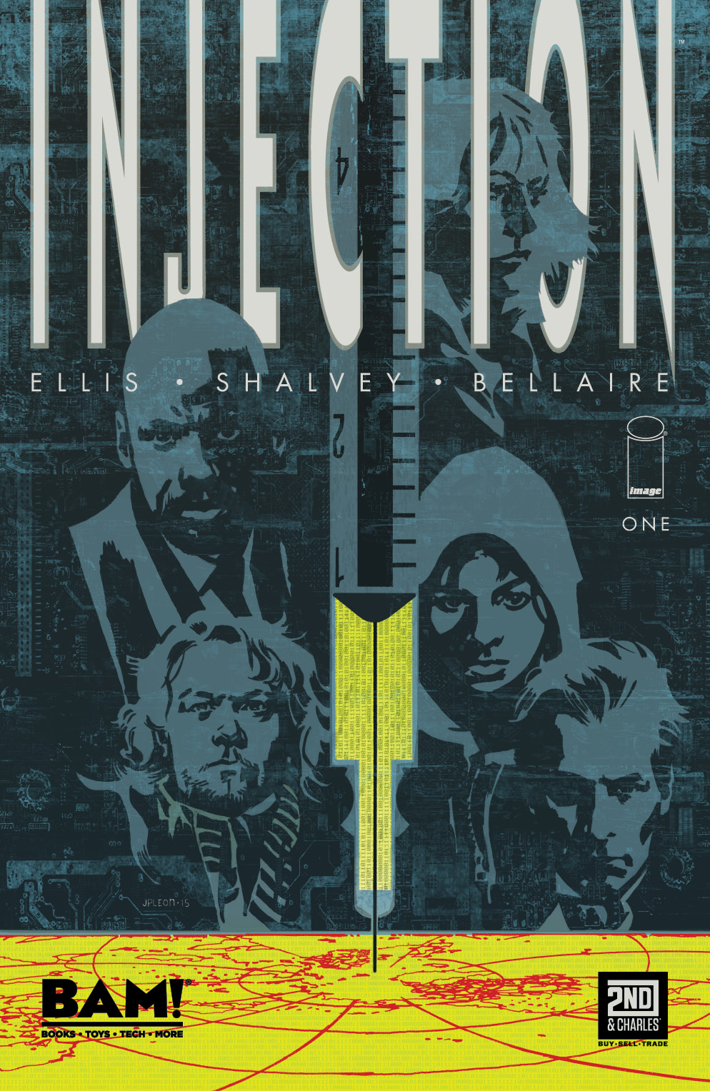 Injection #1 Variant by John Paul Leon