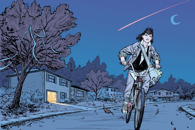 Paper Girls #1 Interior