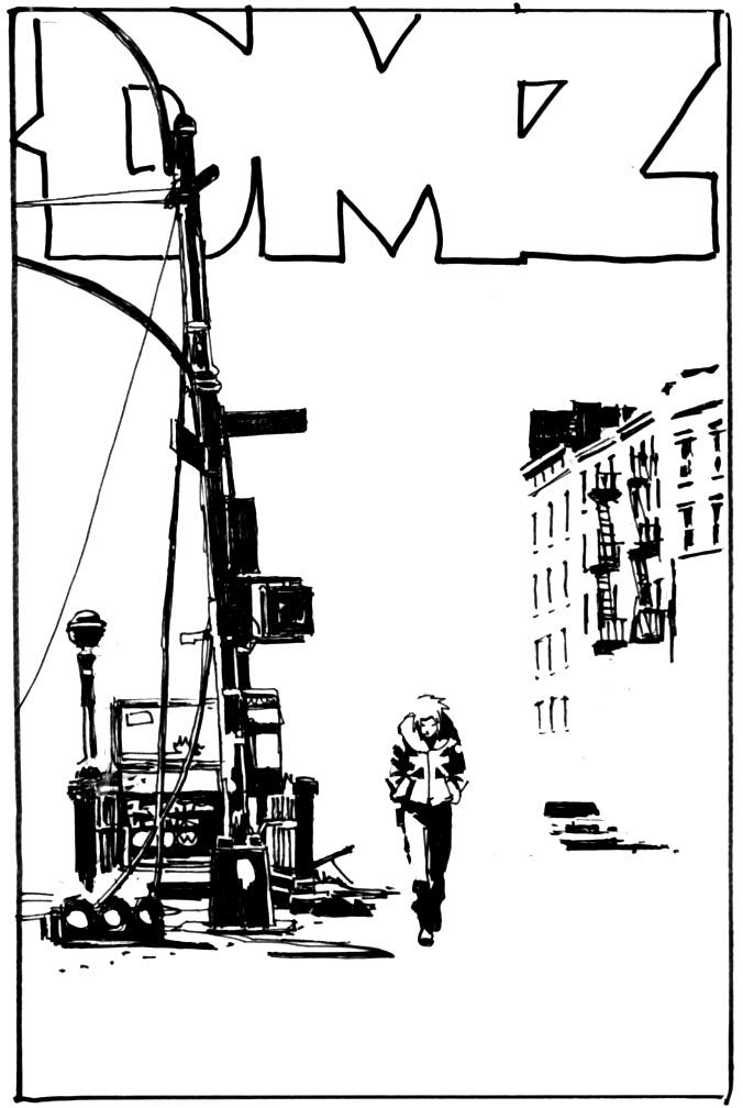 DMZ #41 sketch