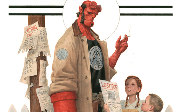 Hellboy Rivera