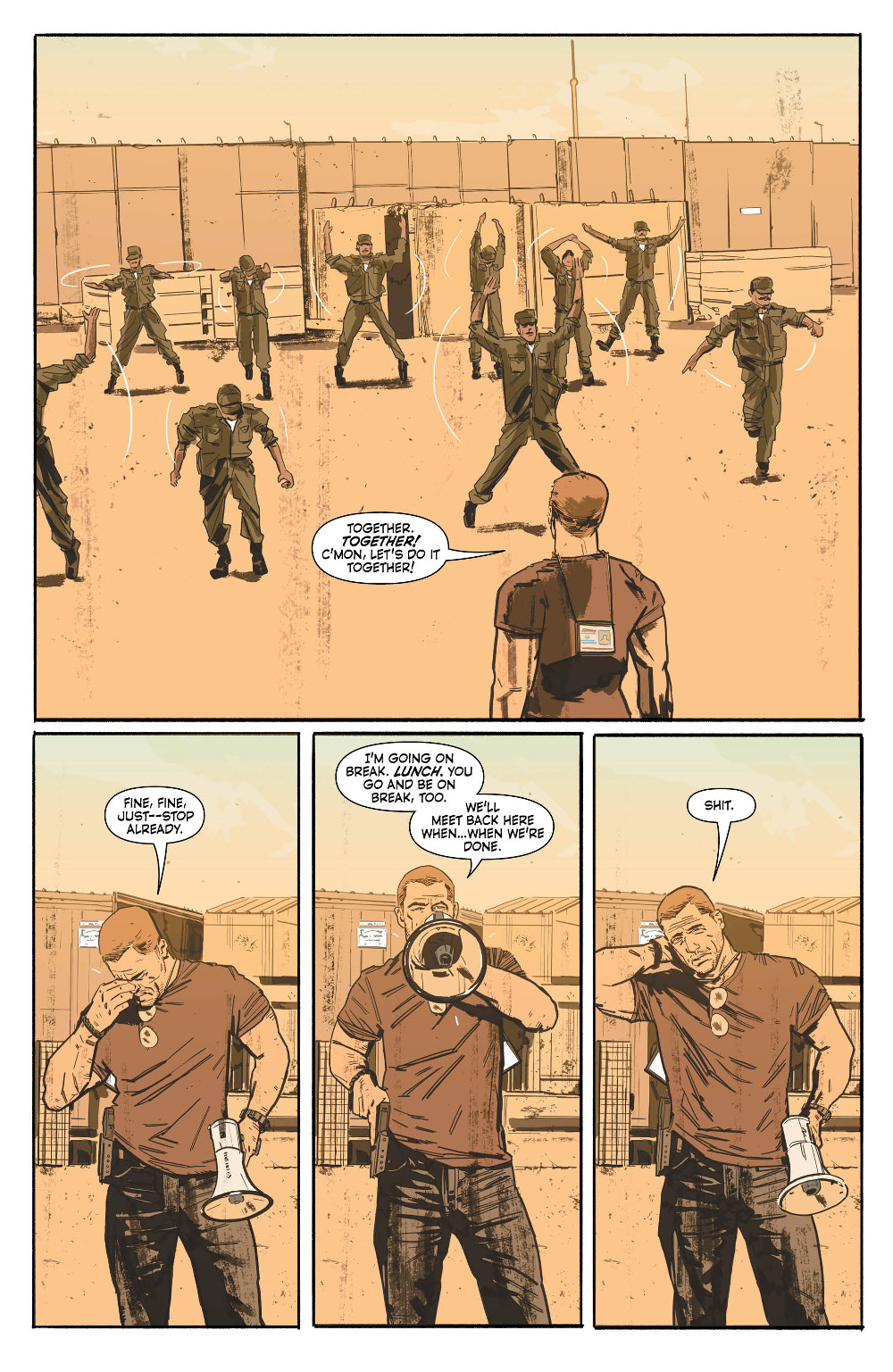 Sheriff of Babylon #1 Page 4