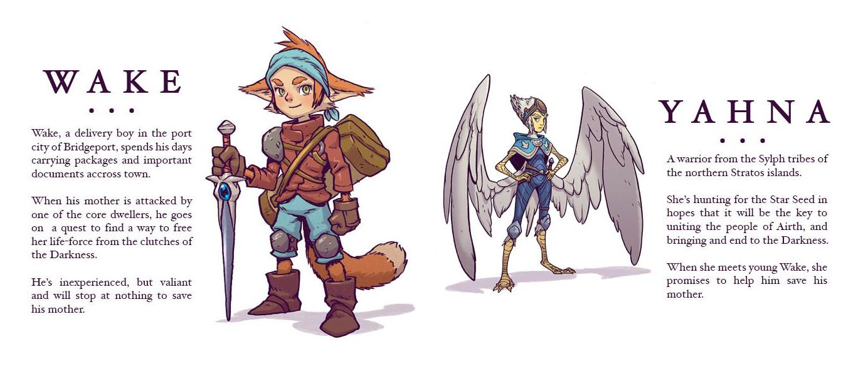 SkyHeart Cast