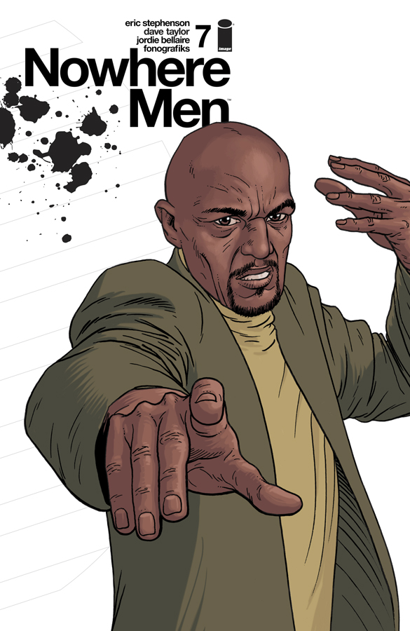 Comics for 2016 - Nowhere Men #7