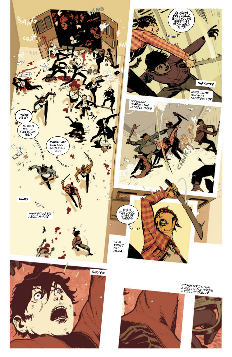 Deadly Class #17 Mapping