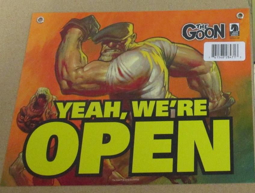 Goon Sign