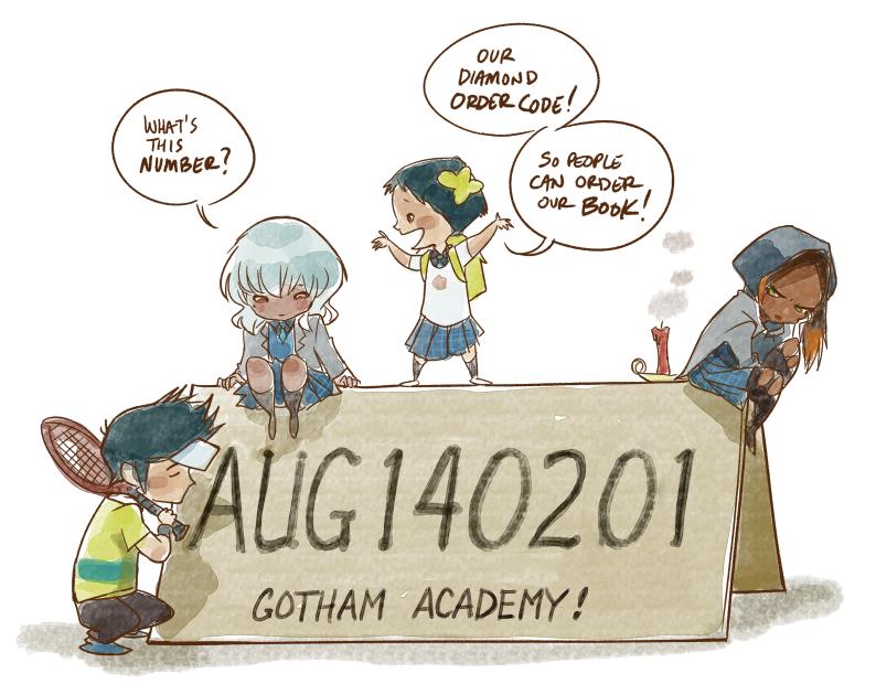 Gotham Academy Order Code