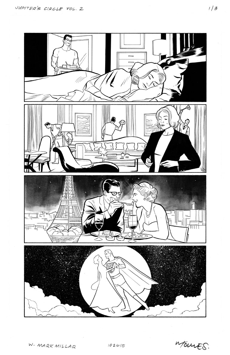 Jupiter's Circle Page 4 Before Colors