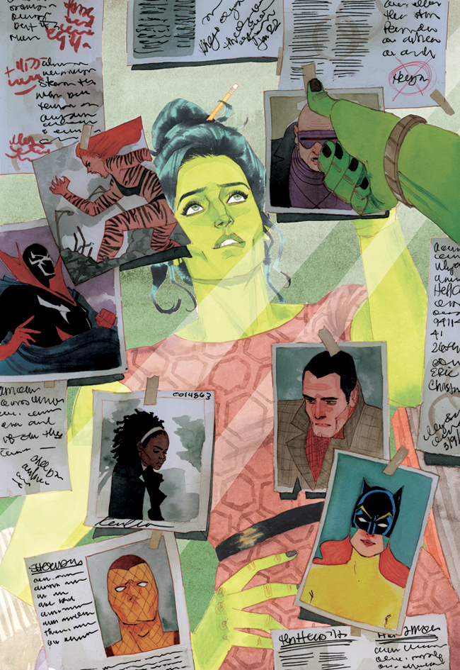 She-Hulk #5 Cover