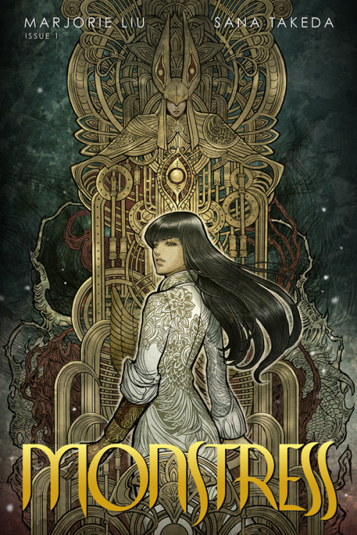 Monstress #1 Cover