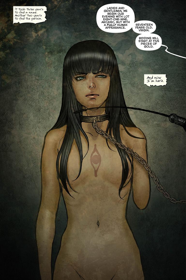 Monstress #1 Page 1