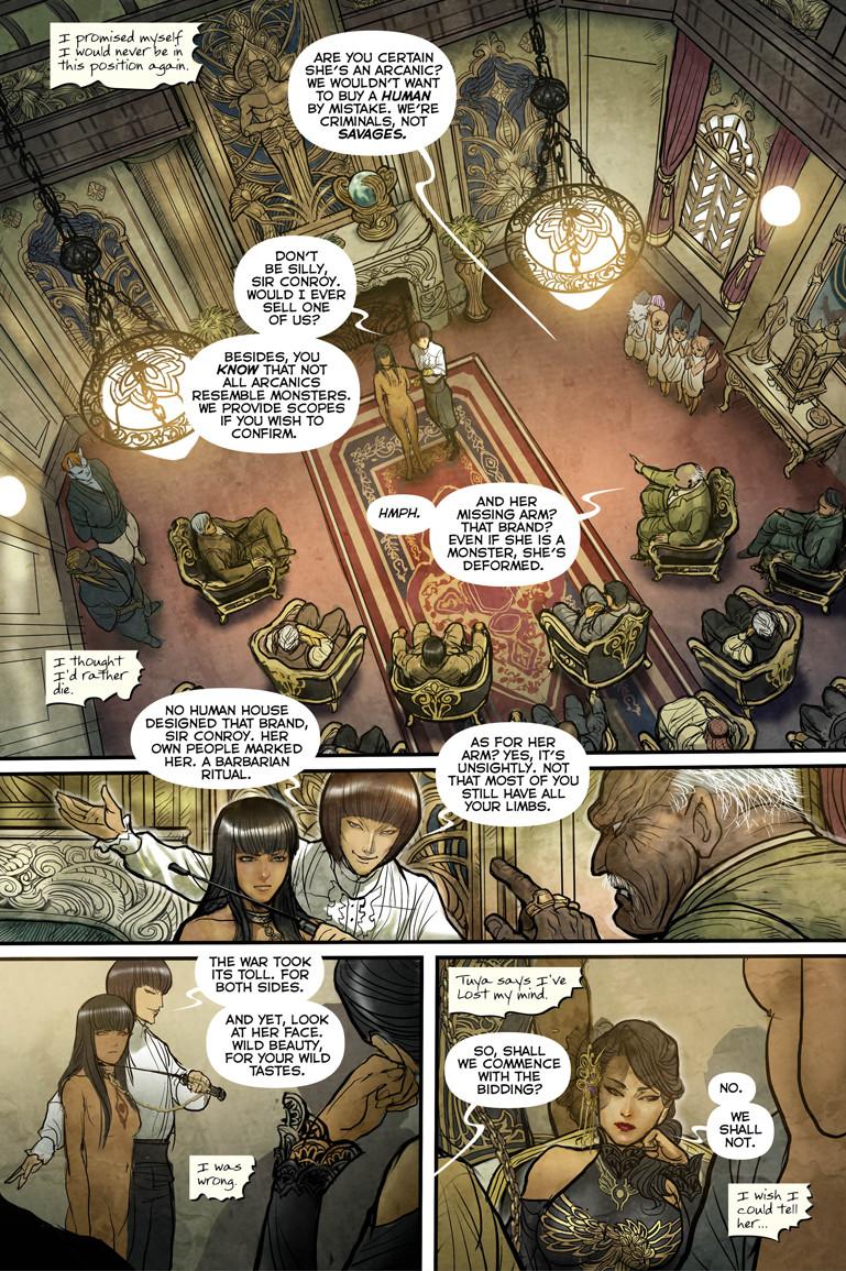 Monstress #1 Page 2