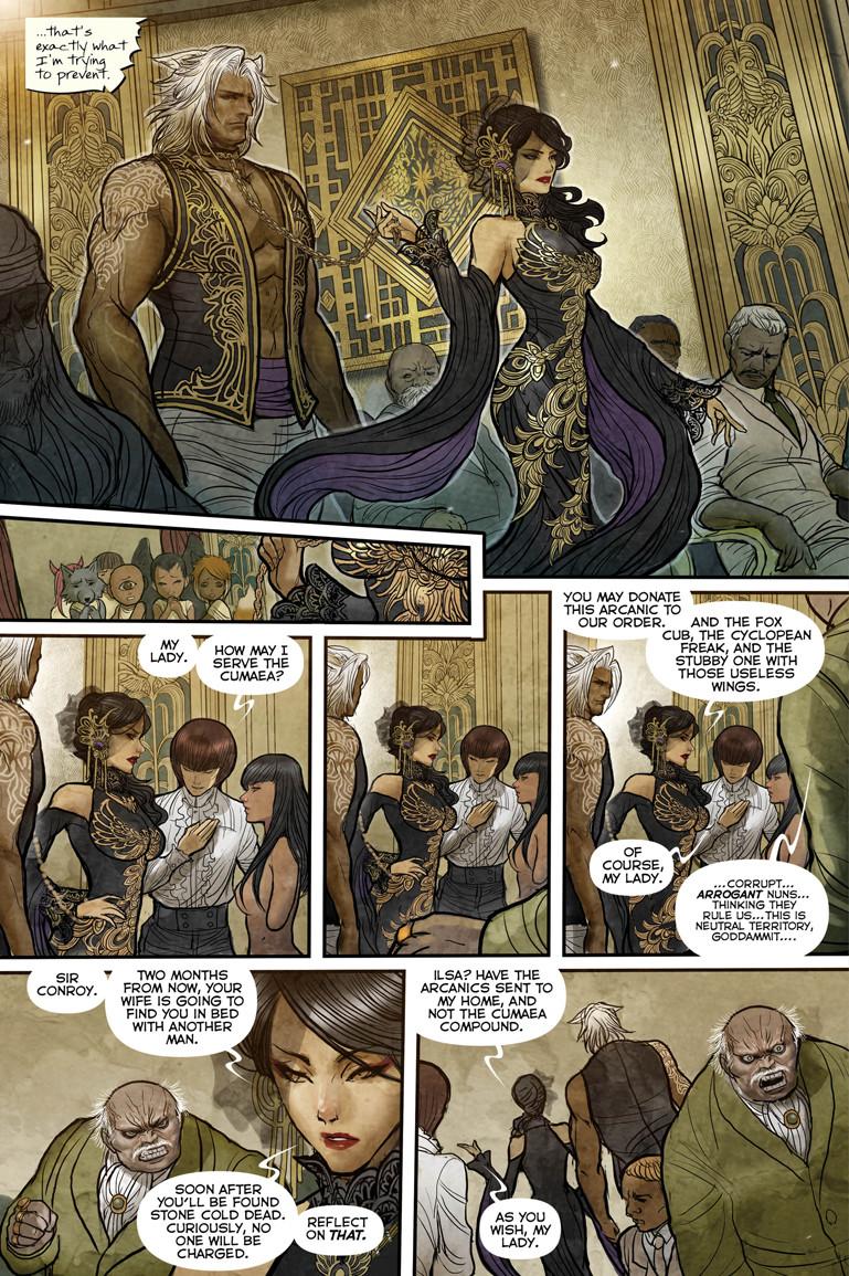 Monstress #1 Page 3