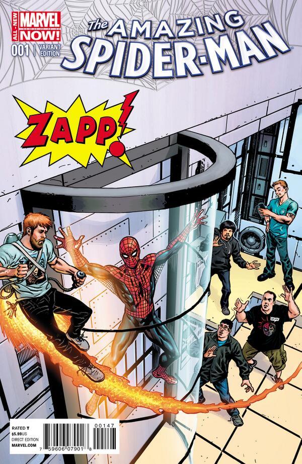 Amazing Spider-Man #1 Zapp Variant