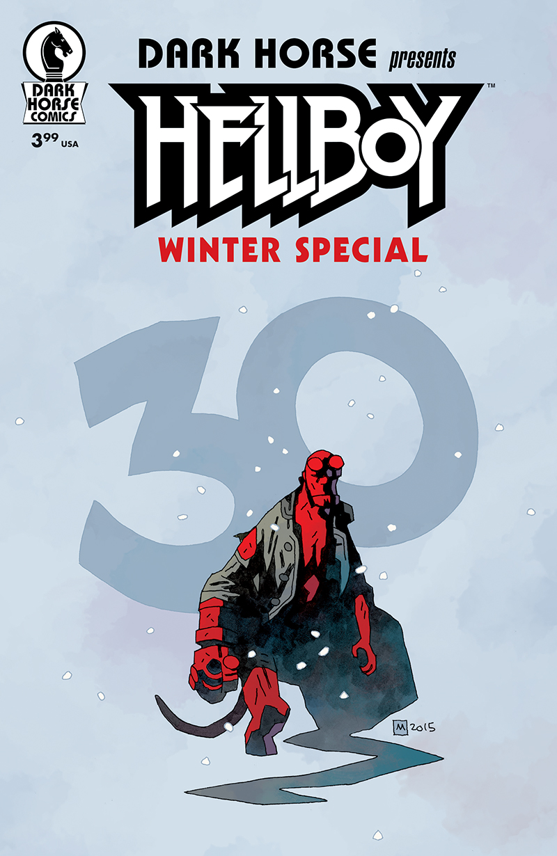 Hellboy Winter Special 30th Anniversary Variant Mike Mignola