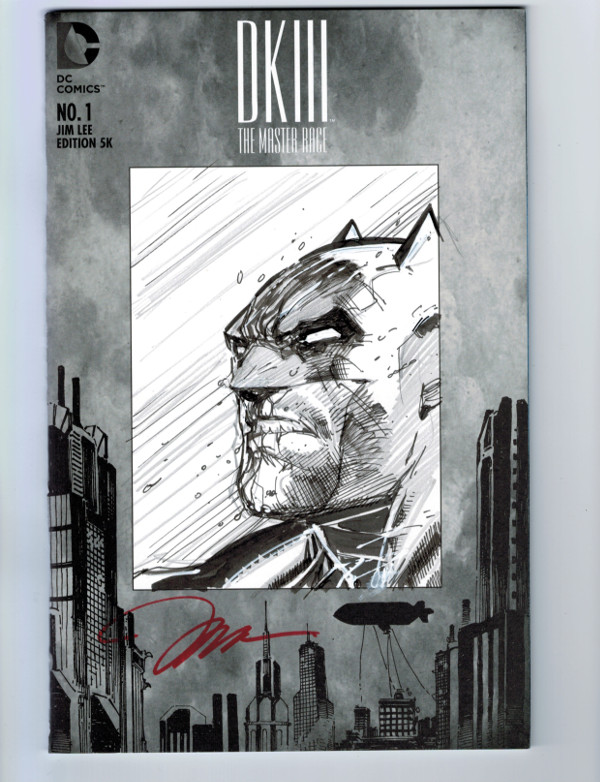Dark Knight III Jim Lee Variant Legacy Comics