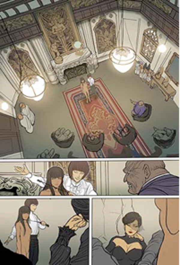 Monstress #1 Process 2