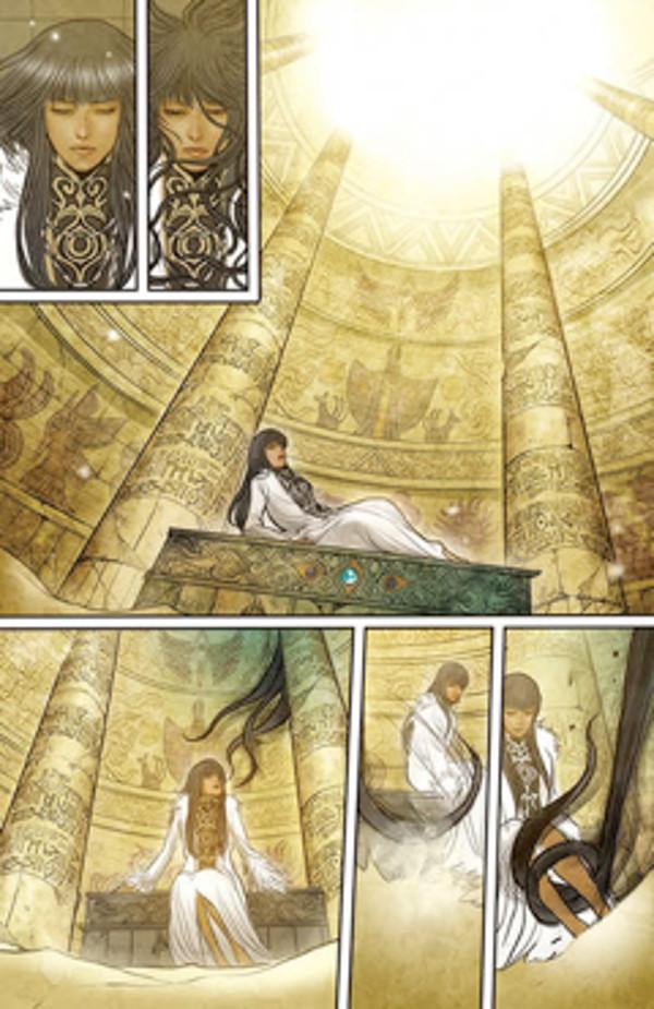 Monstress #3 Page